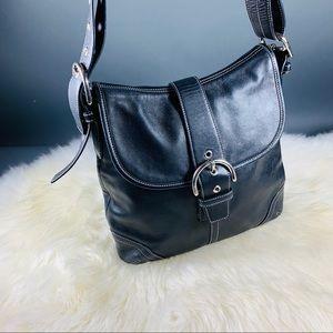 Coach Soho Signature Smooth Leather Bag